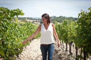 Carine Pichot,vigneronne pour le Nouvel Observateur.